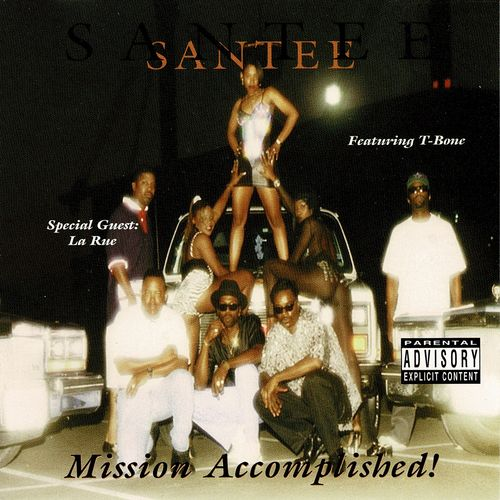 "SANTEE ""MISSION ACCOMPLISHED"" (USED CD)"