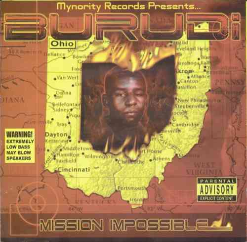 "BURUDI ""MISSION IMPOSSIBLE"" (USED CD)"