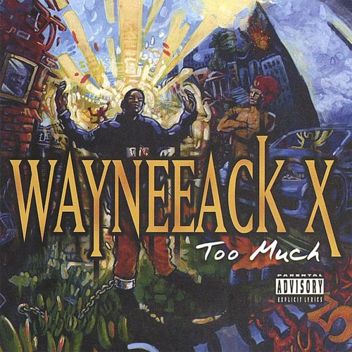 "WAYNEEACK X ""TOO MUCH"" (NEW CD)"