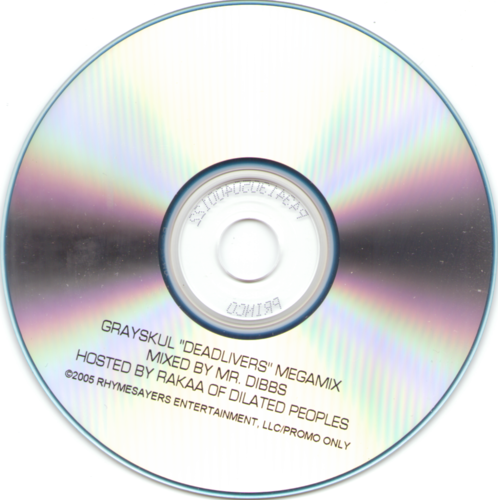 "GRAYSKUL ""DEADLIVERS MEGAMIX"" (CD)"