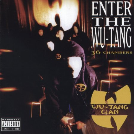 "WU-TANG CLAN ""ENTER THE WU-TANG: 36 CHAMBERS"" (USED CD)"