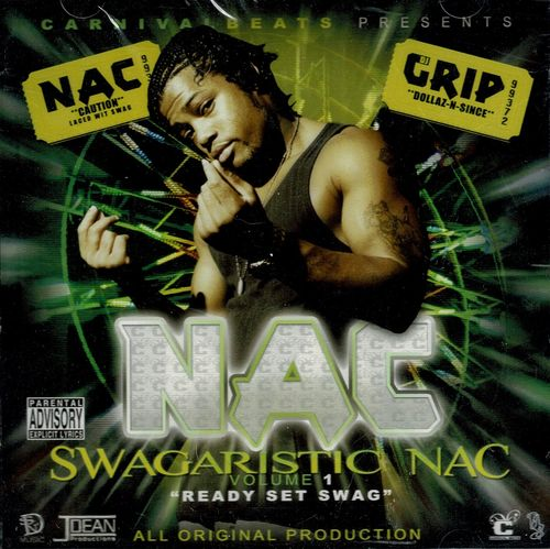 "NAC ""SWAGARISTIC NAC VOLUME 1: READY SET SWAG"" (NEW 2CD)"