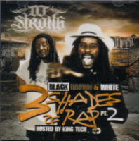 "DJ STRONG & KING TECH ""BLACK, BROWN, WHITE PT. 2"" (CD)"