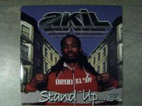"AKIL ""STAND UP"" B/W ""HEY LUV"" (12INCH)"