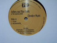 "ASHERU AND BLUE BLACK ""ELEVATOR MUSIC"" (12INCH)"