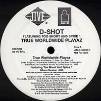 "D-SHOT ""TRUE WORLDWIDE PLAYAZ"" (12INCH)"