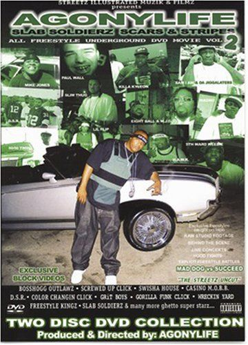 "AGONYLIFE ""SLAB SOLDIERZ: SCARS & STRIPES VOL. 2"" (2DVD)"