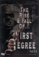 "FIRST DEGREE THE D.E. ""STREET MONSTER: THE RISE & FALL OF..."" (DVD)"