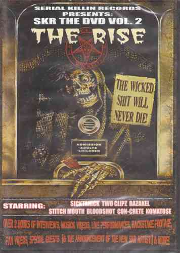"SERIAL KILLIN RECORDS ""SKR THE DVD VOL. 2: THE RISE"" (DVD)"