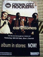"CROWN CITY ROCKERS ""EARTHTONES"" (MINI-PLAKAT)"