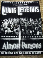 "LIVING LEGENDS ""ALMOST FAMOUS"" (POSTER)"