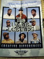"LIVING LEGENDS ""CREATIVE DIFFERENCES"" (POSTER)"