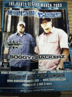 "MOONSHINE BANDITS ""SOGGY CRACKERZ"" (POSTER)"