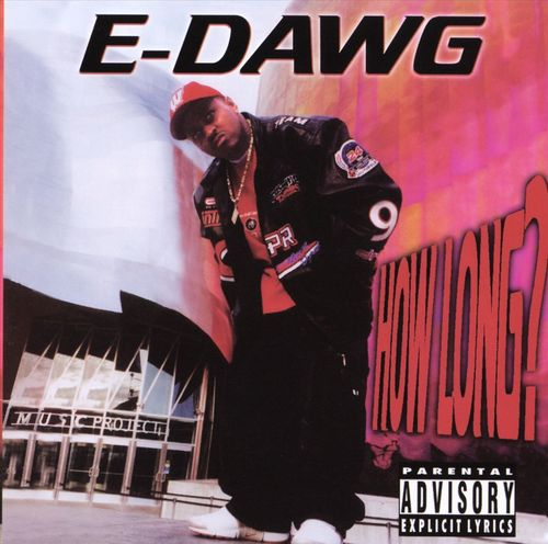 "E-DAWG ""HOW LONG?"" (USED CD)"