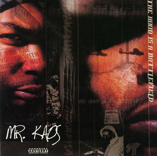 "MR. KAOS ""THE HOOD IS BATTLE FIELD"" (USED CD)"