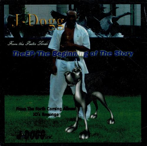 "J-DOGG (OF POETIC LORDZ) ""THE BEGINNING OF THE STORY"" (NEW CD)"