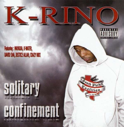 "K-RINO ""SOLITARY CONFINEMENT"" (NEW CD)"