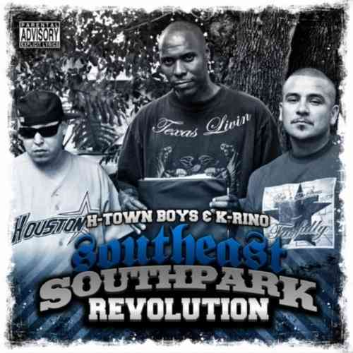 "K-RINO & H-TOWN BOYS ""SOUTHEAST SOUTHPARK REVOLUTION"" (NEW CD)"
