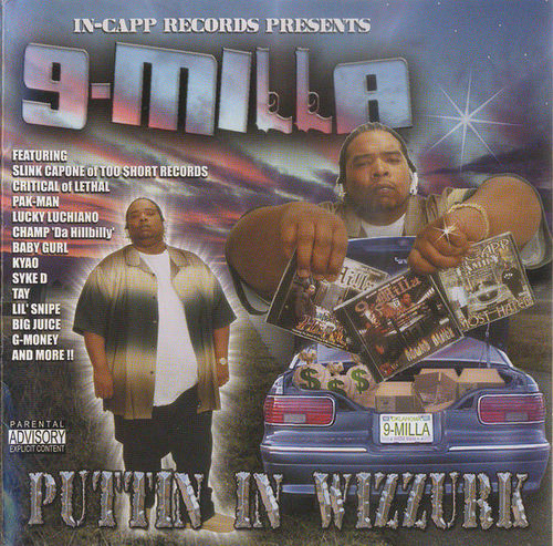 "9-MILLA ""PUTTIN IN WIZZURK"" (NEW CD)"