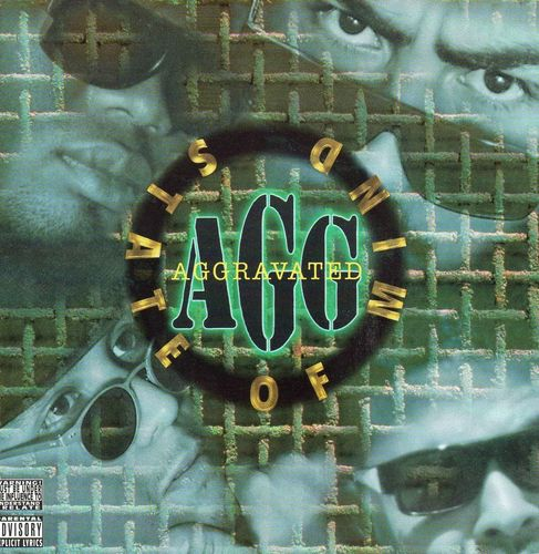 "AGGRAVATED ""AGG... STATE OF MIND"" (USED CD)"