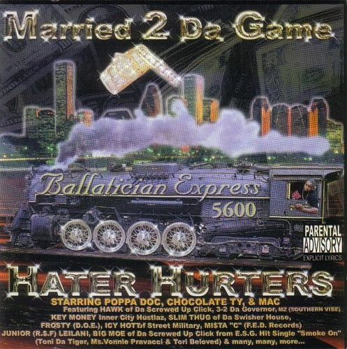"HATER HURTERS ""MARRIED 2 DA GAME"" (USED CD)"