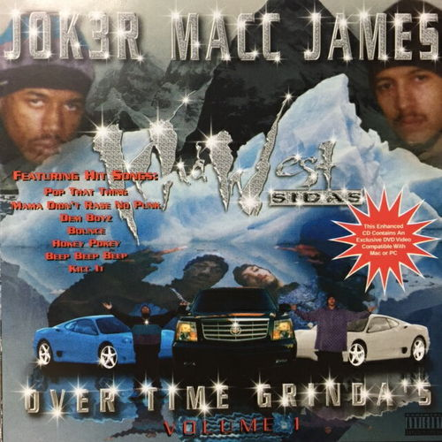 "JOK3R MACC JAMES ""OVER TIME GRINDA'S"" (USED CD)"