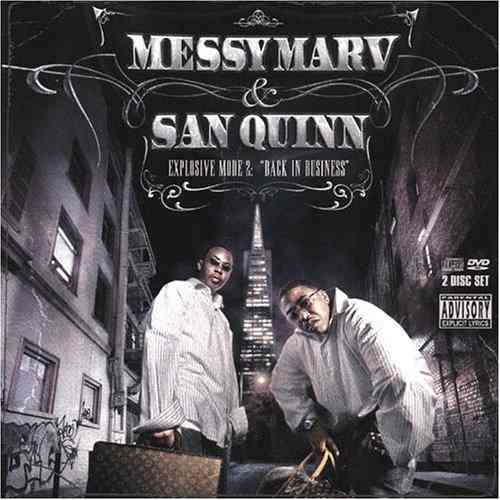"MESSY MARV & SAN QUINN ""EXPLOSIVE MODE 2"" (USED CD+DVD)"