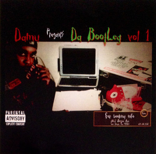 "DAMU PRESENTS ""DA BOOTLEG VOL 1"" (NEW CD)"