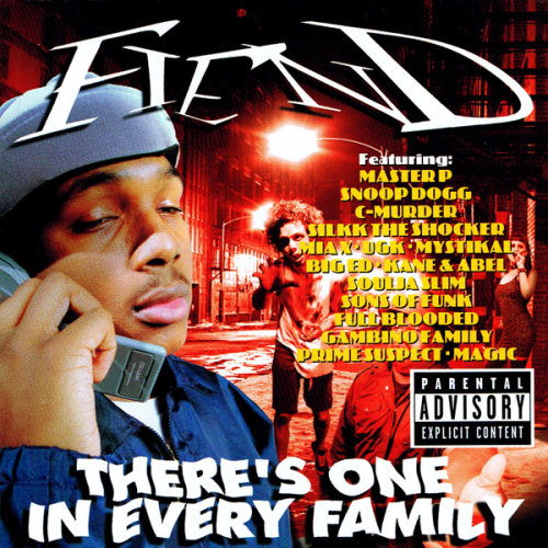 "FIEND ""THERE'S ONE IN EVERY FAMILY"" (USED CD)"