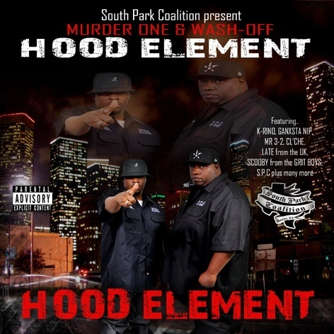 "MURDER ONE & WASH-OFF ""HOOD ELEMENT"" (NEW CD)"