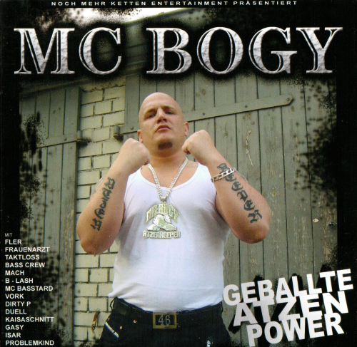 "MC BOGY ""GEBALLTE ATZEN POWER"" (USED CD)"