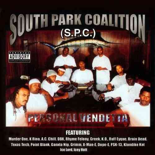 "SOUTH PARK COALITION ""PERSONAL VENDETTA"" (NEW CD)"