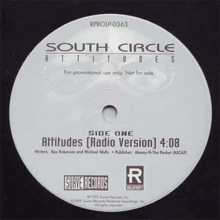 "SOUTH CIRCLE ""ATTITUDES"" (USED 12INCH)"