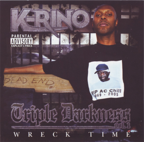 "K-RINO ""TRIPLE DARKNESS VOL. 1: WRECK TIME"" (NEW CD)"