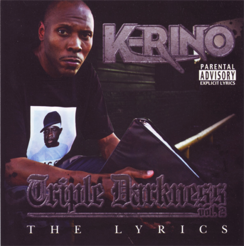 "K-RINO ""TRIPLE DARKNESS VOL. 2: THE LYRICS"" (USED CD)"