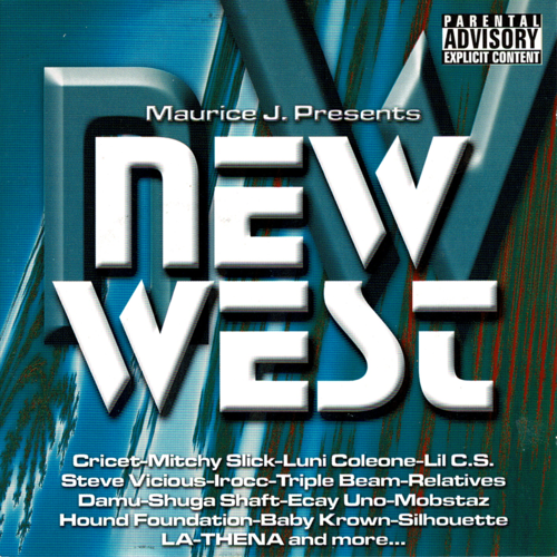 "MAURICE J. PRESENTS ""NEW WEST"" (USED CD)"