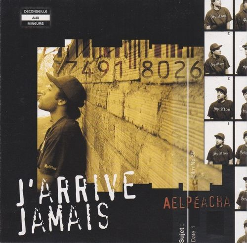 "AELPEACHA ""J'ARRIVE JAMAIS"" (USED CD)"