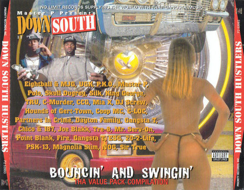 "DOWN SOUTH HUSTLERS ""BOUNCIN' AND SWINGIN'"" (USED 2CD)"