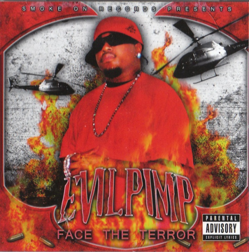 "EVIL PIMP ""FACE THE TERROR"" (USED CD)"