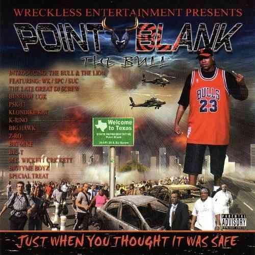 "POINT BLANK ""JUST WHEN YOU THOUGHT IT WAS SAFE"" (NEW CD)"