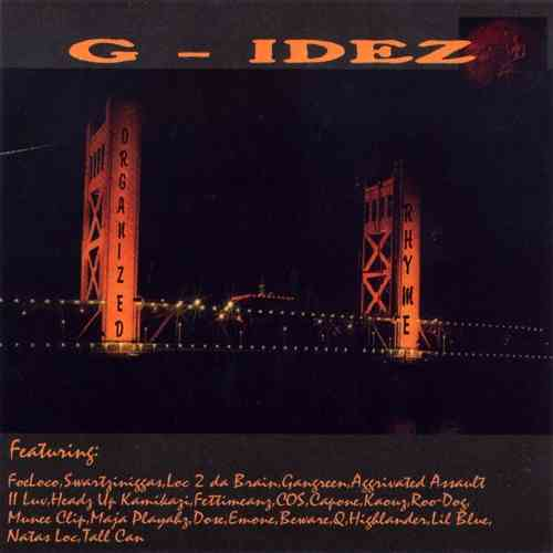 "G-IDEZ ""ORGANIZED RHYME"" (USED CD)"