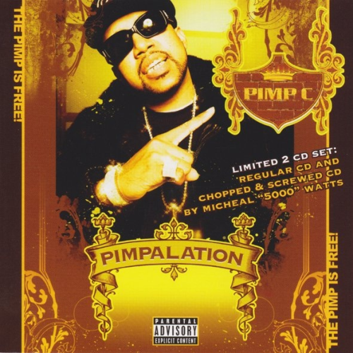 "PIMP C ""PIMPALATION"" (NEW 2-CD)"