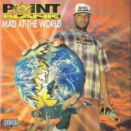"POINT BLANK ""MAD AT THE WORLD"" (USED CD)"