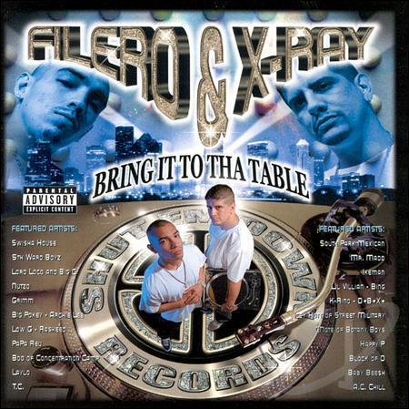 "FILERO & X-RAY ""BRING IT TO THA TABLE"" (USED CD)"