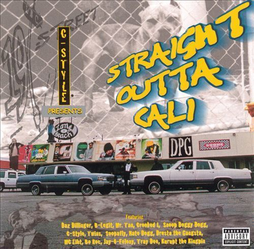 "C-STYLE PRESENTS ""STRAIGHT OUTTA CALI"" (USED CD)"