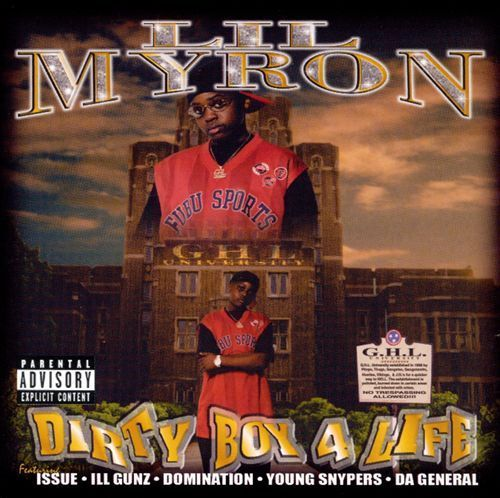 "LIL MYRON ""DIRTY BOY 4 LIFE"" (USED CD)"