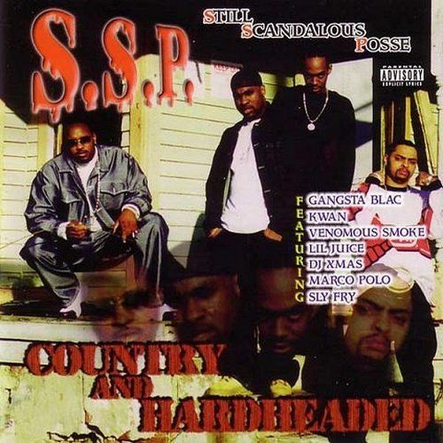 "S.S.P. ""COUNTRY AND HARDHEADED"" (NEW CD)"