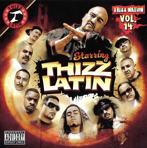 "THIZZ NATION ""VOL. 14: THIZZ LATIN"" (USED CD+DVD)"