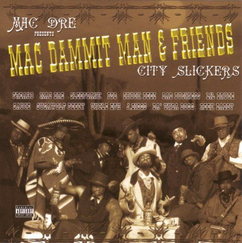 "MAC DRE PRESENTS ""MAC DAMMIT MAN & FRIENDS"" (USED CD)"