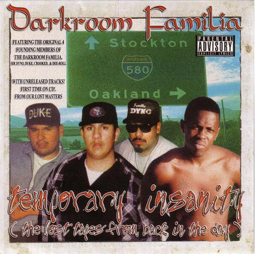 "DARKROOM FAMILIA ""TEMPORARY INSANITY"" (USED CD)"